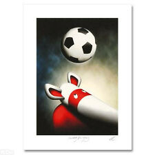Peter Smith HEADING FOR GLORY Limited Ed Giclee Hand Signed WORLD CUP