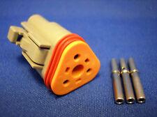 Deutsch DT Connector DT06-03S 3 Way Socket Contact Plug Motorsport
