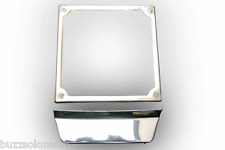 Number Plate Surround with Lip In Stainless Steel 6.5 x 6.5 To Fit Vespa