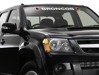 62553 BRISBANE BRONCOS NRL LETTER VISOR CAR WINDOW STICKER DECAL LOGO & WORD