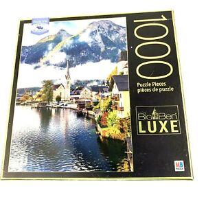 Big Ben Luxe 1000 Puzzle Halstatt Lake 2018 Milton Bradley Brand New Sealed FS