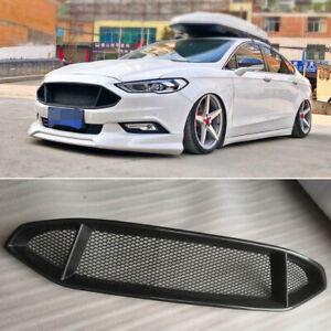 For Ford Mondeo Fusion 2017-2018 Genuine Front Bumper Carbon Fiber Upper Grill