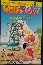 TEX AVERY'S WOLF & RED #2 1995 Plus Screwball Squirrel