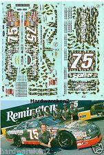 NASCAR DECAL #75 REMINGTON CAMO 1996 THUNDERBIRD MORGAN SHEPARD