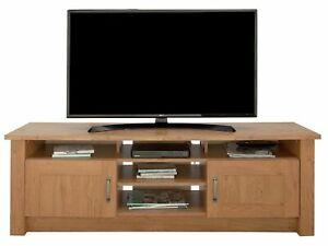 Home Ohio TV Unit - Oak Effect