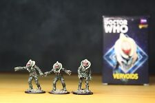 Doctor Who Vervoids expansion Warlord Games with well painted miniatures