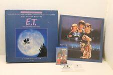 1982 E.T.Extra Terrestrial ET Cassette Special Edition Michael Jackson w/ Poster