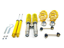 Yellow Coilovers Adjustable Suspension Lowering Kit Set for 98-06 BMW E46