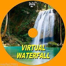 STUNNING VIRTUAL WATERFALL DVD VIDEO VIEW ON FLATSCREEN, PLASMA, LED TV/PC NEW