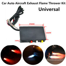 Universal Car Auto Aircraft Exhaust Flame Thrower Kit Fire Burner Voltatge 12
