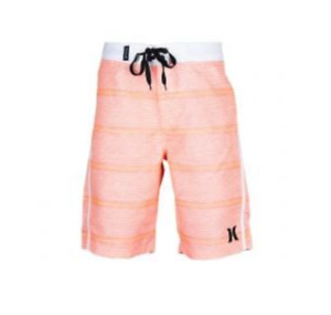 NWT Hurley Small Boy's Boardshorts Swim Size 7 Bright Mango 882852