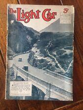 THE LIGHT CAR. 13 MAY 1938. VINTAGE MOTORING MAGAZINE