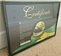 MINICHAMPS Ayrton Senna Limited Edition Numbered Sealed Certificate