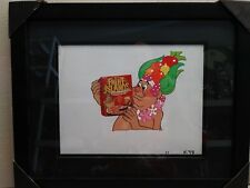 Fruit Islands Cereal Framed Animation Production Cel Art King Ayumma Yumma