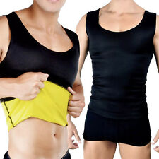 CANOTTA UOMO HOT SHAPERS FASCIA INSTANT TRAINING MAGLIA DIMAGRANTE PALESTRA FIT