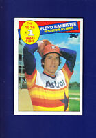 Floyd Bannister 1976 #1 Draft Pick 1985 TOPPS Baseball #274 (NM) Houston Astros
