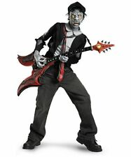ROT N' ROCKERS HARD ROCK ZOMBIE CHILD HALLOWEEN COSTUME SIZE LARGE 10-12