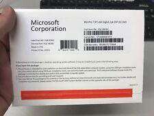 FULL NEW Microsoft Windows 7 Pro Professional SP1 64BIT OEM 1PK DSP OEI ENG DVD