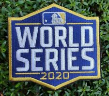 MLB 2020 World Series Iron On Jersey Patch - PLEASE READ ITEM DESCRIPTION