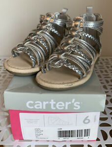 Carters Shoes Girl Size 6 (Used)