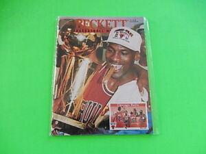 MICHAEL JORDAN BECKETT BASKETBALL CARD MAGAZINE ISSUE #38 SEPTEMBER 1993