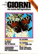 GIORNI vie nuove dell'agricoltura – 1985 - n.38 pompe di calore nelle serre