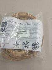 Beginners Basket Weaving Kit