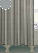 Lustre Silver Shower Curtain 180cm NEW