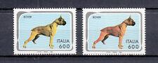 1994 ANIMALI DOMESTICI LIRE 600 BOXER GIALLO INVECE DI ARANCIONE  VARIETA'
