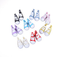 5cm Doll Accessory Sneakers Shoes for BJD dolls,Fashion Mini Canvas Shoes Toy TO