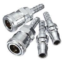 Male Female 8mm Gas Hose Nozzle Copper Quick Release Connector Caravan Motor BBQ