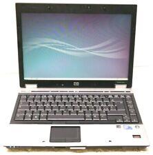 3) HP ELITEBOOK 6930p Intel Core Duo 2,66Ghz  RAM 4GB HD 160GB  NO ALIMENTATORE