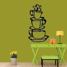 meSleep Cups Design Black Wall Sticker- Wall Decals -ws-S-04-21