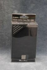 CANON POWERSHOT PSC-1000 LEATHER CASE f/SD-1000 & MORE - NOS - FREE USA DELIVERY