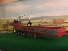 Corgi Heavy Haulage Modern Hiab Dropside Crane Trailer Only 1/50 Code 3
