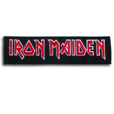 Iron Maiden Patch Iron on Band Logo Punk Heavy Metal Rock Hardcore Glam Music MC