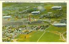 Akron, OH  Blimps of the Goodyear-Zepplin Corporation