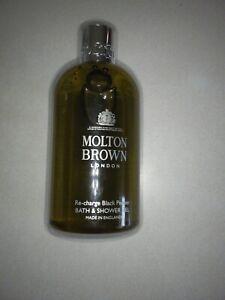 Molton Brown Re-charge Black Pepper Bath & Shower Gel 10oz / 300mL  NOT SEALED!