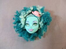 MATTEL MONSTER HIGH HONEY SWAMP HEAD ONLY REPLACEMENT FRIGHTS CAMERA ACTION