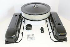 BB Chrysler Black Engine Dress Up Kit Valve Covers Air Cleaner Mopar 383 400 440