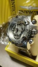 Invicta Reserve Men's Excursion Swiss 5525 Chronograph Stainless Steel Watch,New