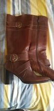 Ladies Brown Next Boots Size UK 6.5 Eur 40