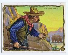 Hassan Cigarettes Cowboy Series T53 on the Hunt high grade 328