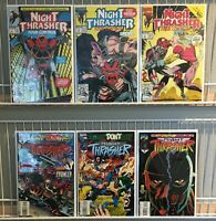 Night Thrasher Four Control FN-VF+ 1-3 + 1st Series 16,18,21 Marvel (1992-93)