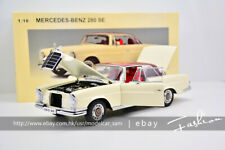 AutoArt 1:18 BENZ 280SE COUPE 1968 White