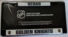 Vegas Golden Knights Metal License Plate Frame Car Truck Auto Tag Holder Black