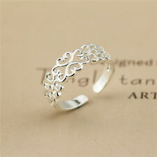 New anillo  Plated Ring Women Fashion Jewelry Wholesale Size OPEN FaI