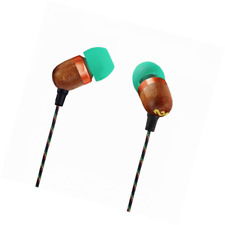 House of Marley, Smile Jamaica Wired In-Ear Headphones - In-line Microphone with