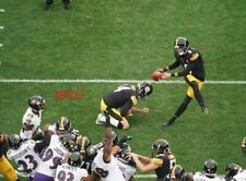 CHRIS BOSWELL PITTSBURGH STEELERS FG 10/6/19 VS BALTIMORE RAVENS COLOR 8X10