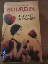 Françoise Bourdin: D'Espoir et de Promesse/ Pocket